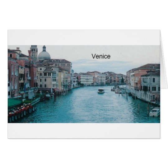 Italy Venice Grand Canal  (St.K) Greeting Card
