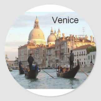 Italy Venice Grand Canal St K Stickers