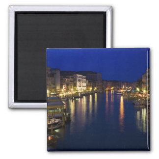 Italy, Venice, Night View Along the Grand 2 Magnet