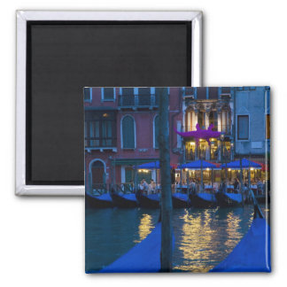 Italy, Venice, Night View Along the Grand Magnet