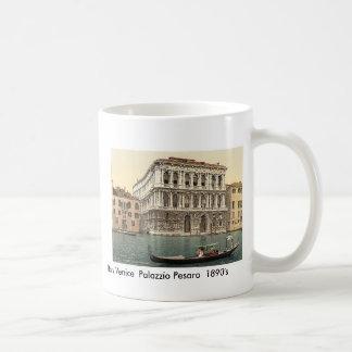 Italy  Venice Palazzo Pesaro  1890's Mug