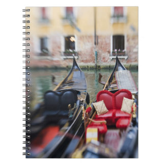 Italy, Venice, Selective Focus of Gondola in the 2 Notebooks