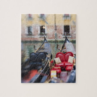 Italy, Venice, Selective Focus of Gondola in the 2 Puzzles