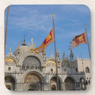 Italy, Venice, St. Mark's Basilica in St. Mark's Coaster