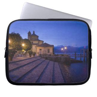 Italy, Verbano-Cusio-Ossola Province, Cannobio. Laptop Sleeve