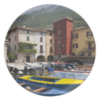Italy, Verona Province, Malcesine. Cassone old 2 Plate