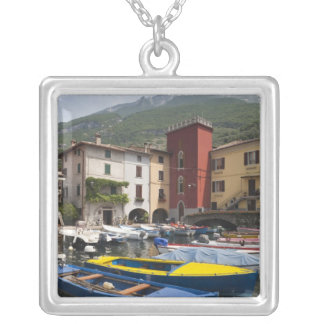 Italy, Verona Province, Malcesine. Cassone old 2 Silver Plated Necklace