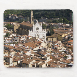 Italy, View of Florence with Church of Santa 2 Mouse Pad