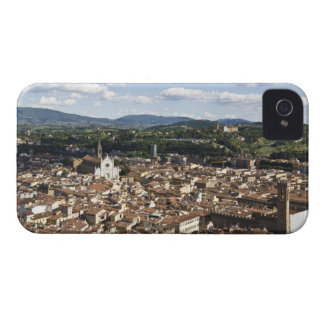 Italy, View of Florence with Church of Santa Case-Mate iPhone 4 Cases