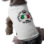 Italy vs The World Sleeveless Dog Shirt