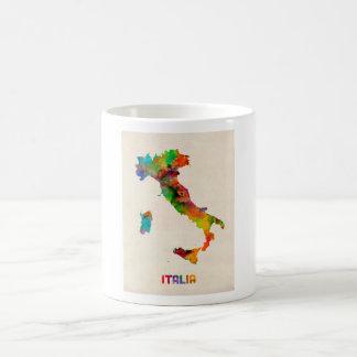 Italy Watercolor Map Italia Mug