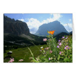 ITALY: Wildflowers, Dolomites Stationery Note Card