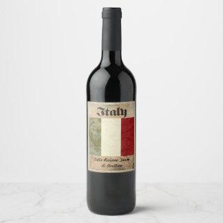 Italy Wine Label