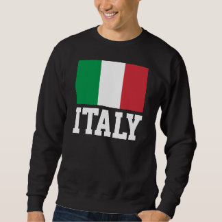 Italy World Flag Sweatshirt