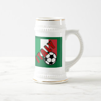 ITALY World Soccer Fan Tshirts Beer Steins