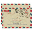 Italy World Traveller Airmail |  Bridal Shower Card