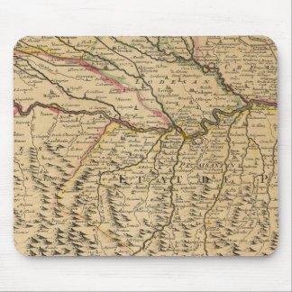 Italy's Po River Valley Mouse Mat