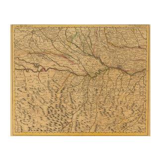 Italy's Po River Valley Wood Wall Decor