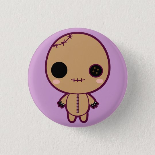 Itami the VooDoo Doll 3 Cm Round Badge