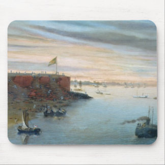 Itapiru, Paraguay, 1866 (oil on canvas) Mouse Pad