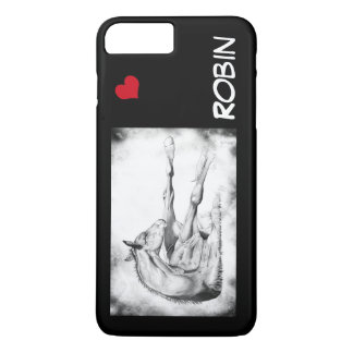 Itch Too with red heart iPhone 7 Plus Case