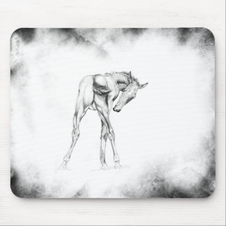Itch with Misty Border Mouse Pad