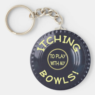 ITCHING BOWLS! KEY RING