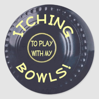 Itching Bowls sticker