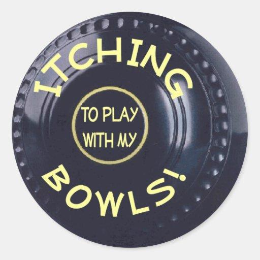 Itching Bowls sticker