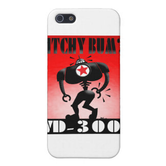Itchy Bum? iPhone 5/5S Cover