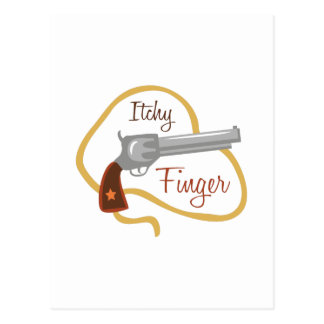 Itchy Finger Postcard