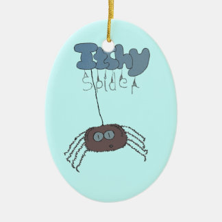 Itchy spider christmas ornament