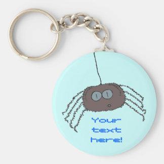 Itchy spider keychain
