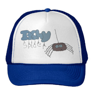 Itchy spider mesh hat
