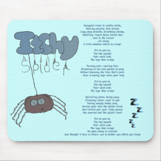 Itchy spider mouse mat