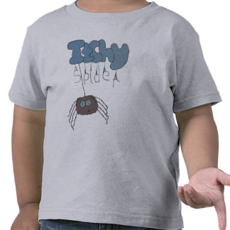 Itchy spider t-shirts