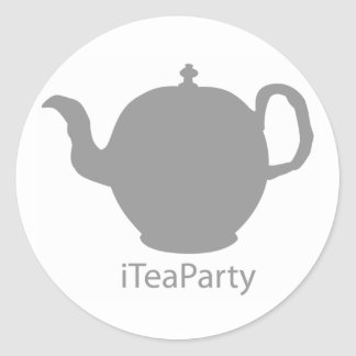 iTeaParty stickers