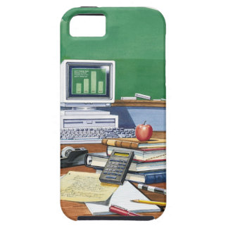 Items on a school teachers desk  Color iPhone 5 Covers