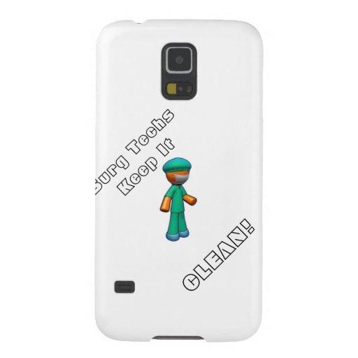 """Items """"Surg Techs Keep It Clean!"""" Samsung Galaxy Nexus Cases"""