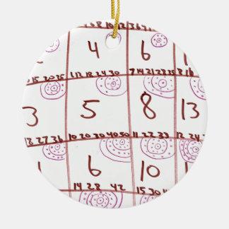 Iterator Round Ceramic Decoration