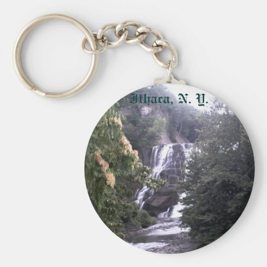 Ithaca Falls key chain