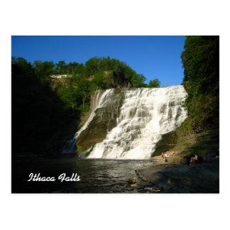 Ithaca Falls Postcard
