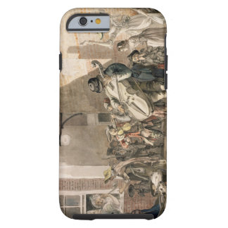Itinerant Musicians playing in a poor part of town Tough iPhone 6 Case