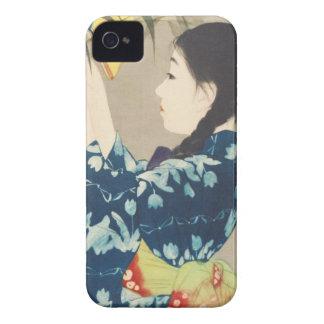 Ito 100 Figures of Beauties Wearing Takasa Kimono iPhone 4 Cases