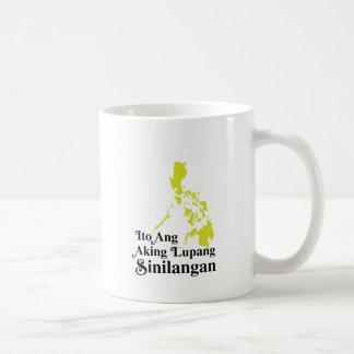 Ito Ang Aking Lupang Sinilangan - Philippines Basic White Mug