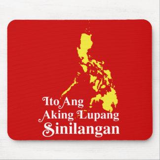Ito Ang Aking Lupang Sinilangan - Philippines Mousepads
