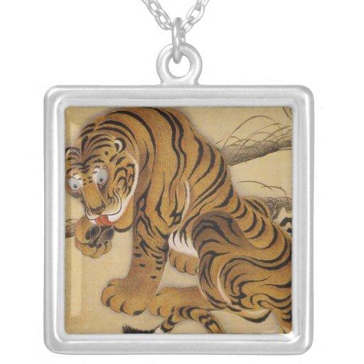 Ito Jakuchu Tiger Necklace