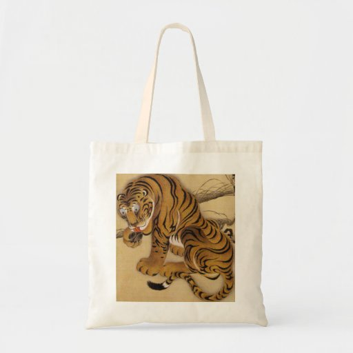 Ito Jakuchu Tiger Tote Bag