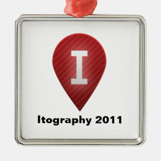 Itography 2011 christmas ornament