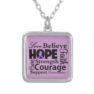 ITP Awareness Love Hope Courage Pendant